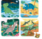 Mobile Preview: Kofferpuzzleset Dinos